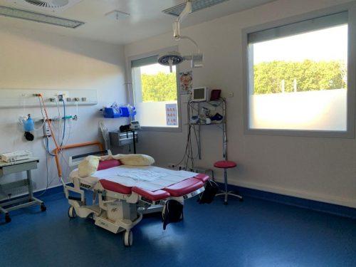 Salle d'accouchement - Maternité Pôle Santé Léonard de Vinci