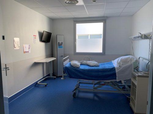 Chambre de Pré travail - Maternité Pôle Santé Léonard de Vinci